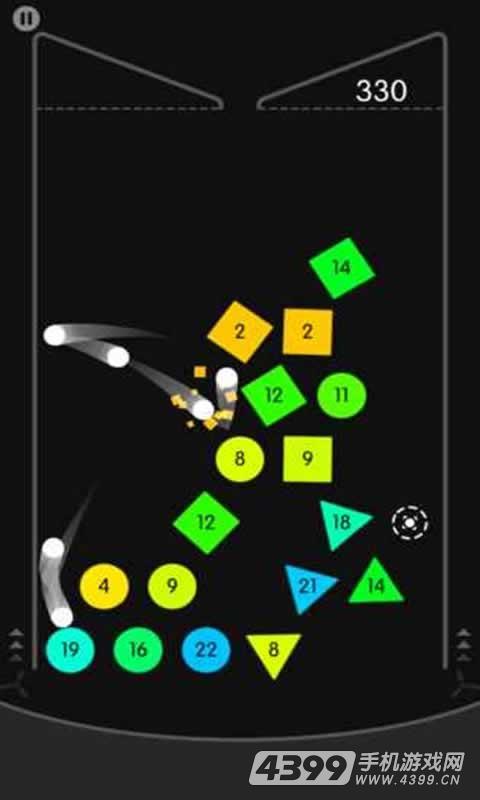 物理弹球游戏截图