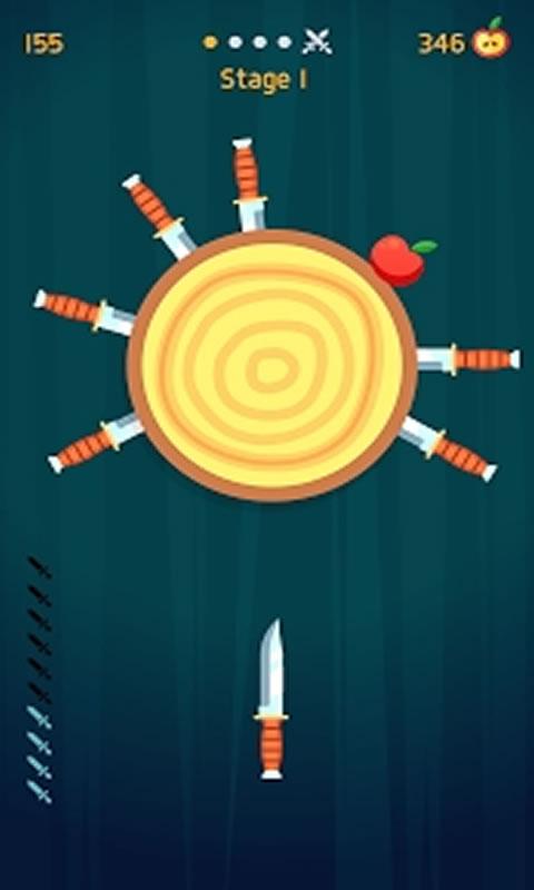 飞刀打击游戏截图