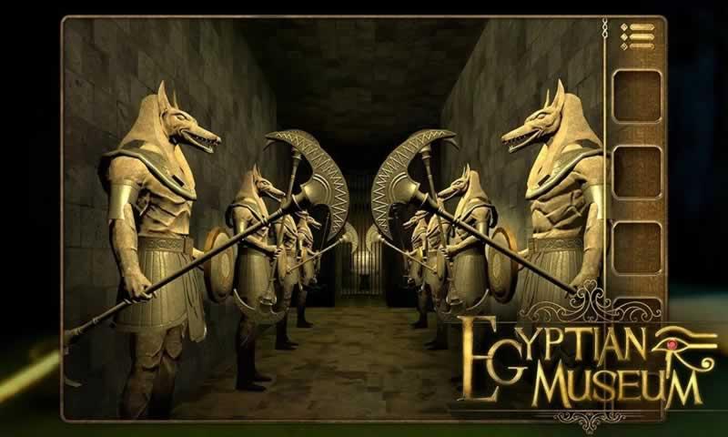 密室逃脱:埃及博物馆探险游戏截图