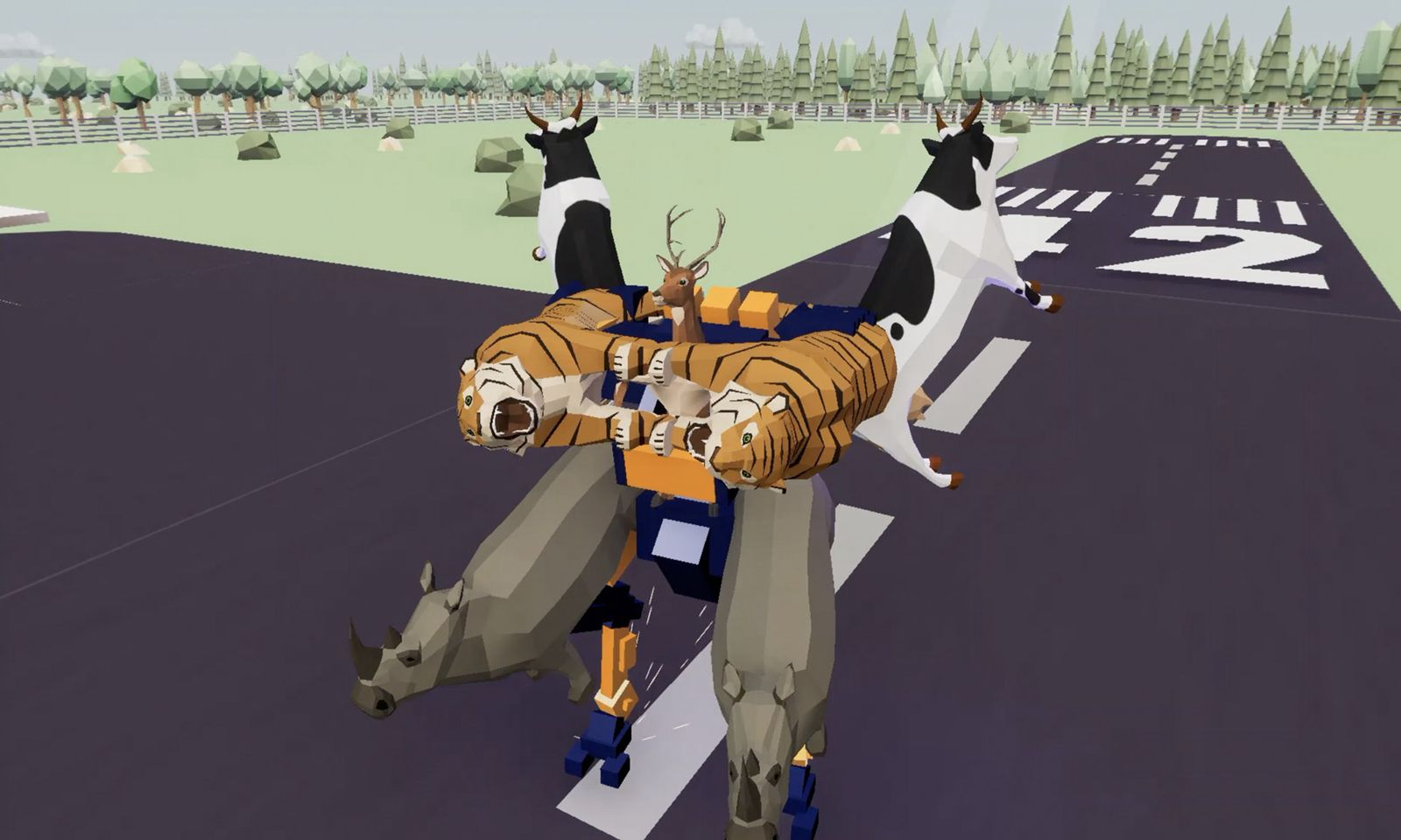 非常普通的鹿游戏截图