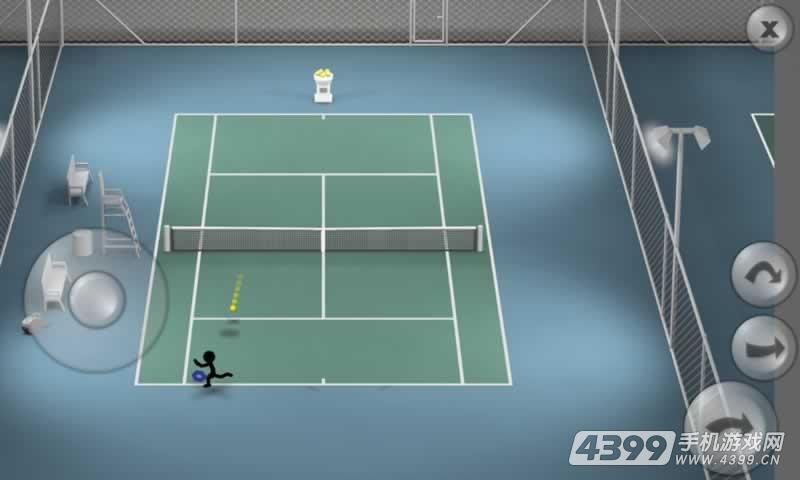 火柴人网球游戏截图