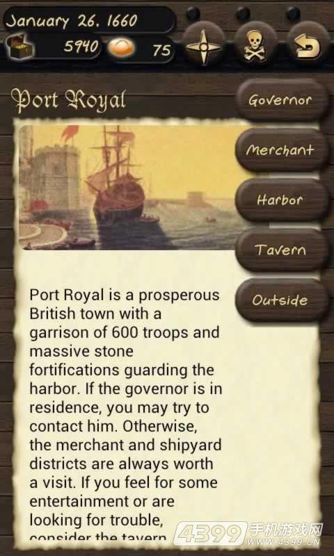 海盗与商人游戏截图