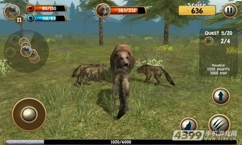 化身为狼3D游戏截图