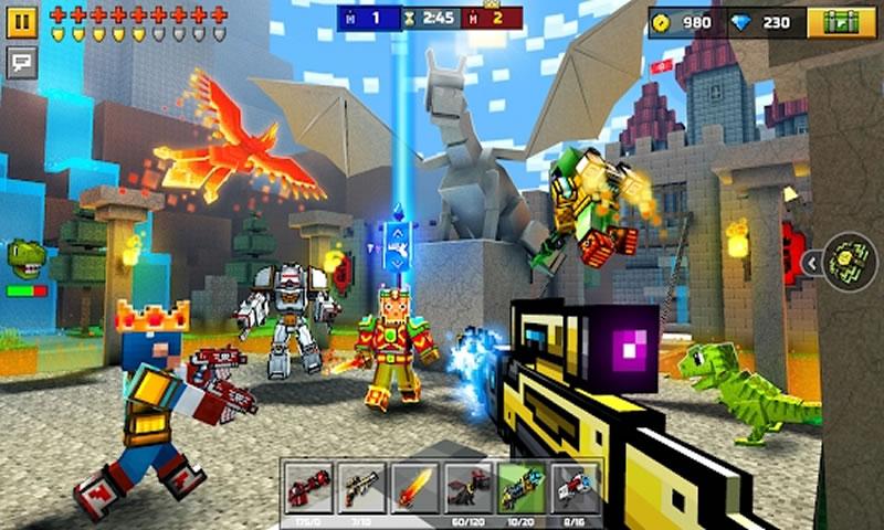 3D像素射击游戏截图