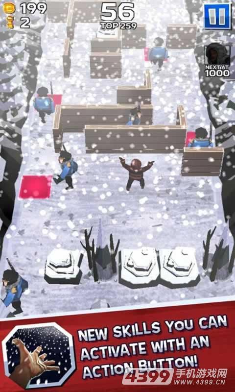 冬日逃亡者游戏截图