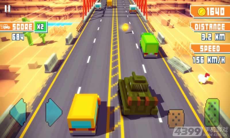 像素高速游戏截图