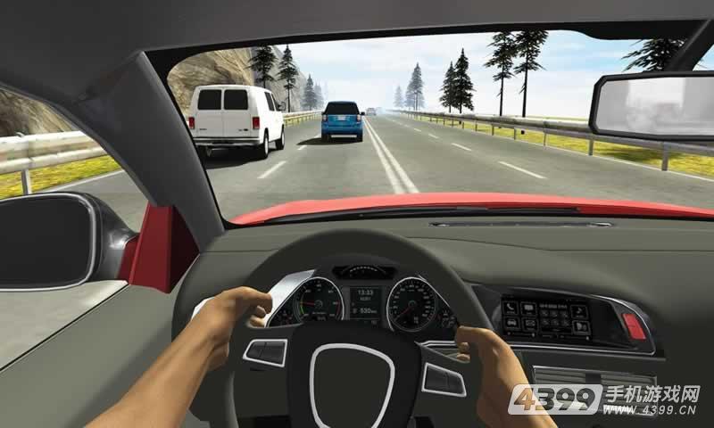 竞速赛车游戏截图