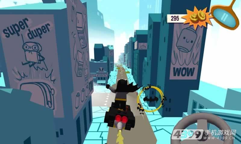 乐高超级英雄迷你车游戏截图