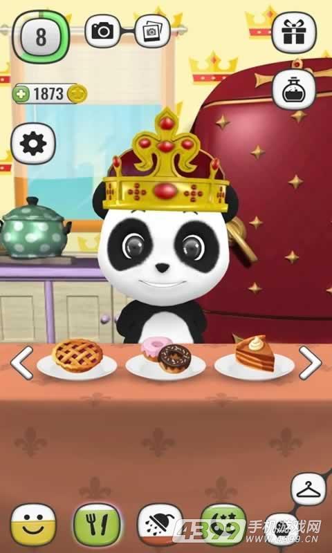我的会说话的熊猫游戏截图