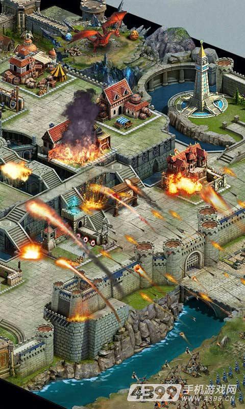 帝国OL:全面战争游戏截图