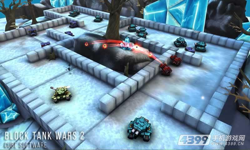 方块坦克大战2游戏截图