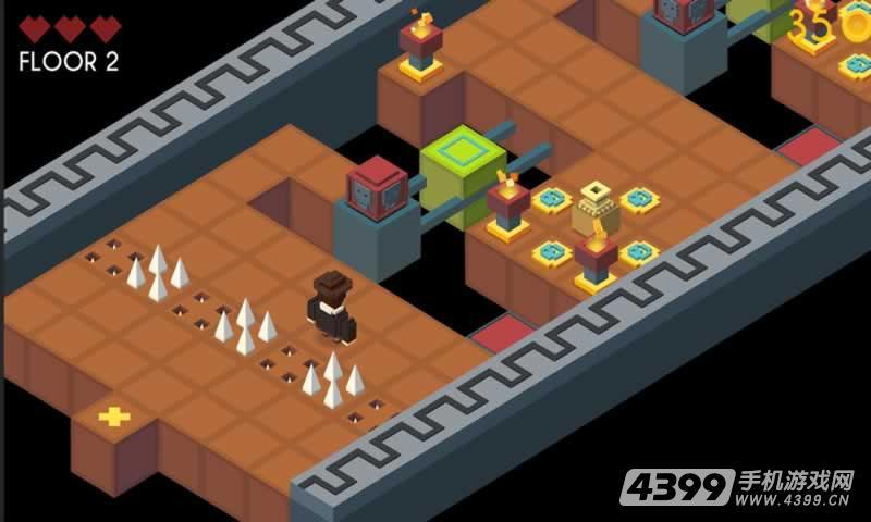 地牢陷阱3D游戏截图