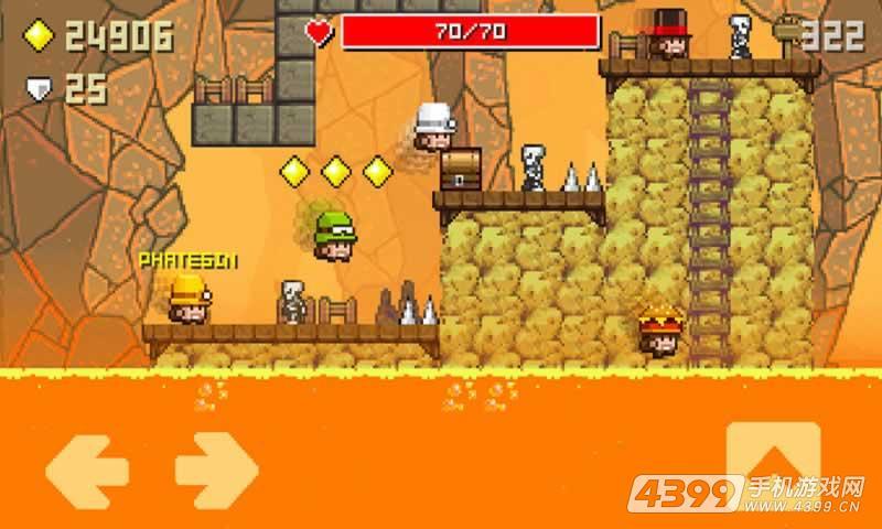 洞穴探索网络版游戏截图
