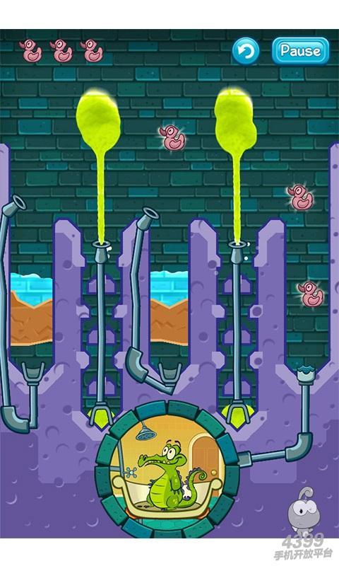 鳄鱼小顽皮爱洗澡游戏截图