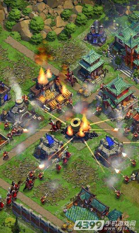 帝国战争游戏截图