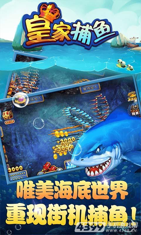 皇家捕鱼游戏截图
