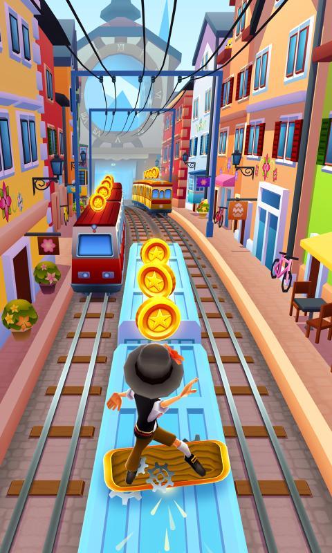 地铁中跑酷原版游戏截图