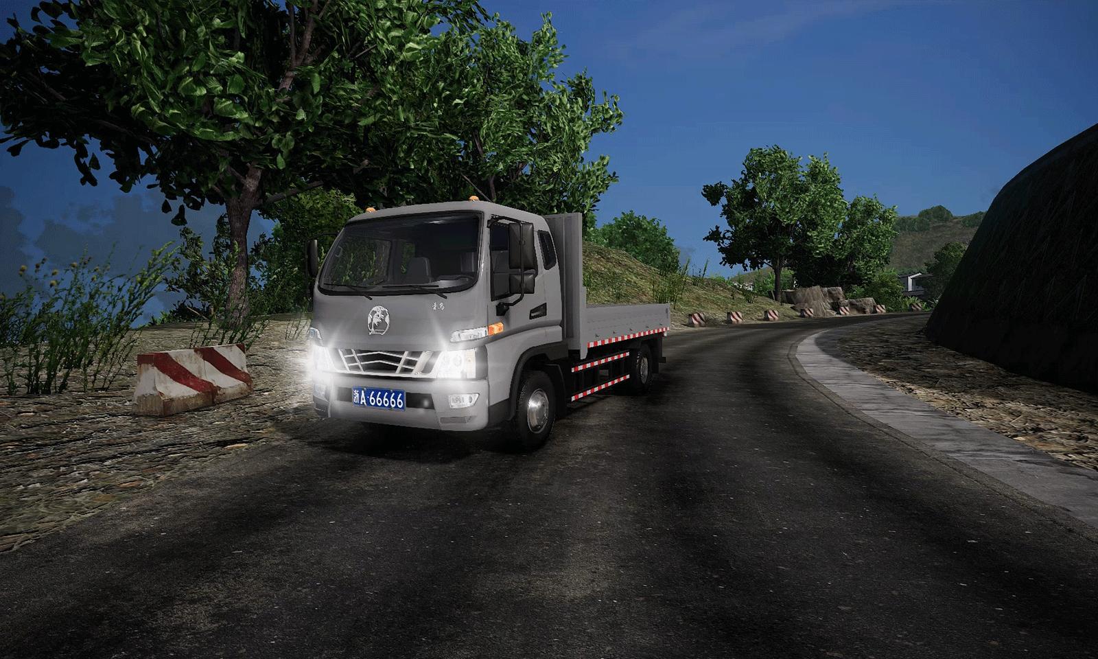 卡车人生(中国地图)