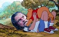 小李子这是跟熊扛上了