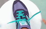 超帅气系鞋带方法