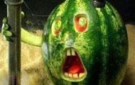 这么热的天,请你吃西瓜