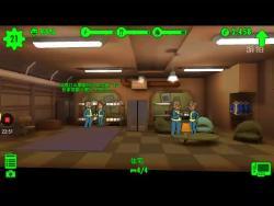 寂晨试玩《辐射:避难所》这个游戏,呵呵