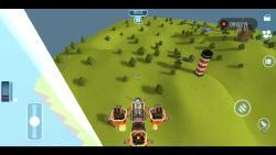 一辆无限在空中飞行的战斗机