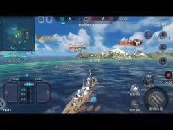 巅峰战舰三星驱逐舰对舰玩法