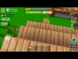 像素方块世界  村庄有市场了!7