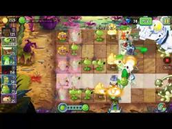 植物大战僵尸2如何用平民植物打败僵王。